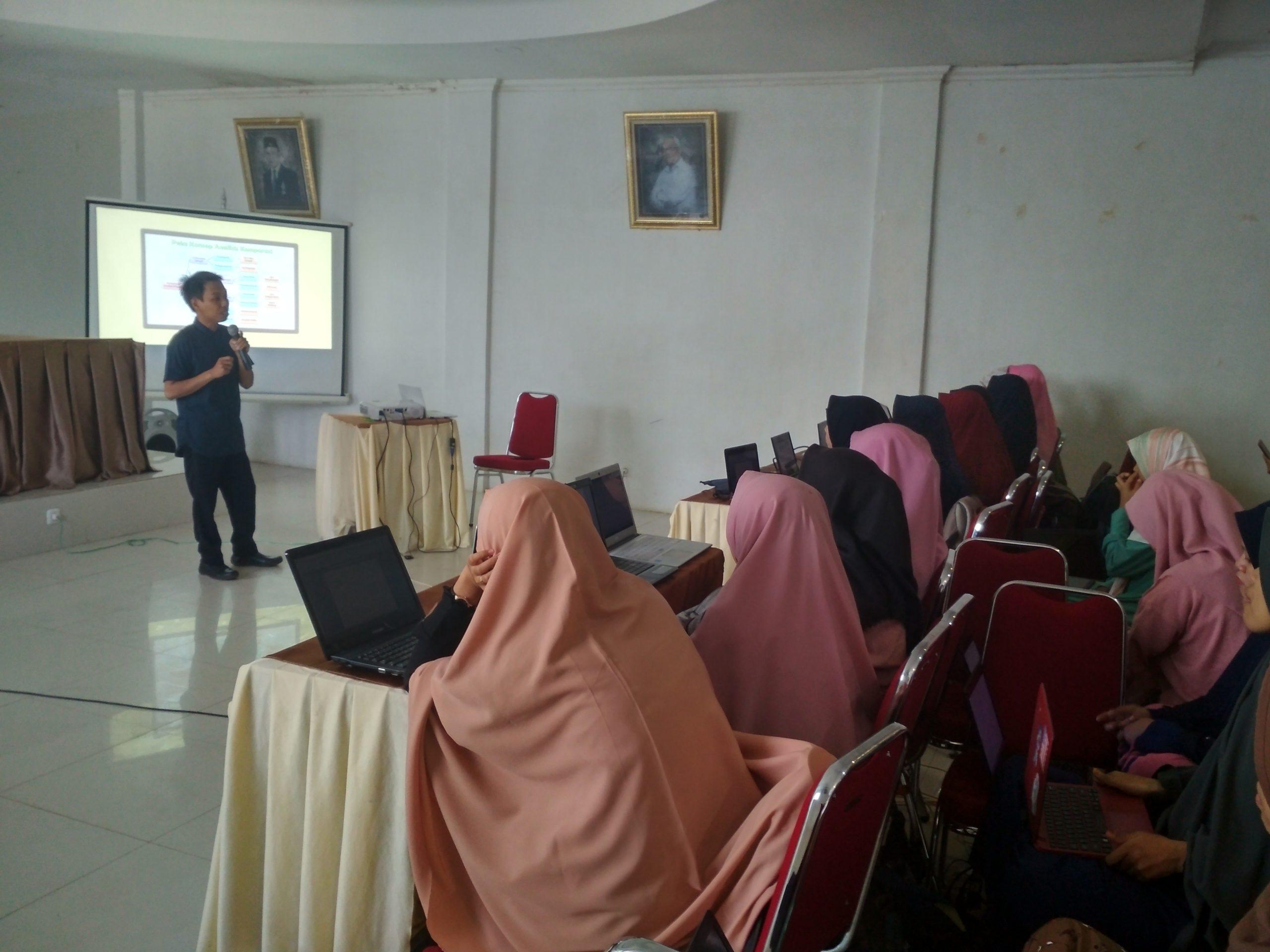 FKIP UMMA Gelar Pelatihan Analisis Data Berbantuan SPSS