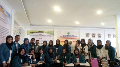 Pelantikan Pejabat Struktural UMMA Periode 2018-2023